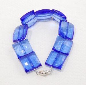 Blue Resin Bracelet