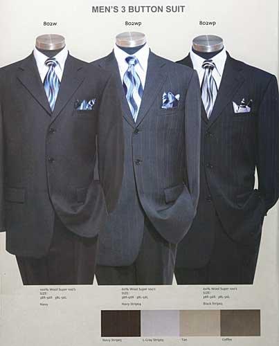 Adrain Wool Suit