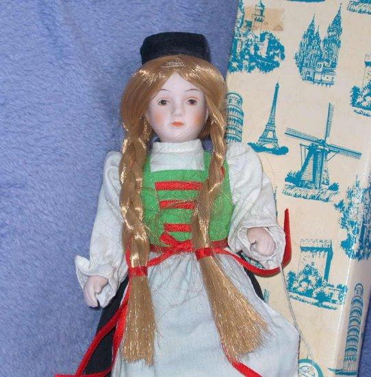 RUSS  Poreclin Doll  NIB