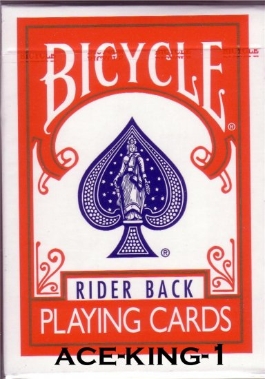 Bicycle Red Standard Index