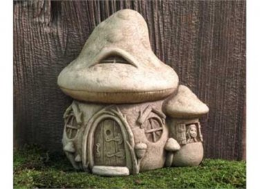 Mushroom Fairy Cottage - Designer White 1246A