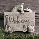 Barnyard Welcome - Terra Cotta 1258TC