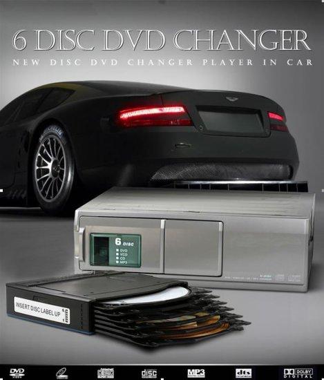 Car 6 Disc DVD Changer
