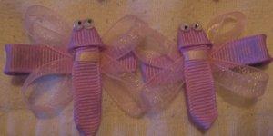 Dragonfly barrettes