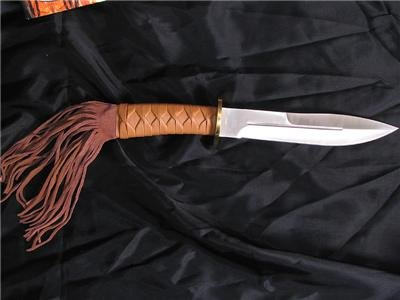 """12"""" Native American Style Bowie"""