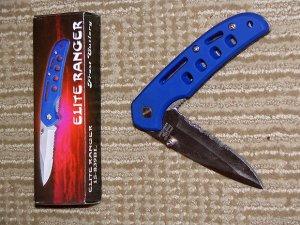 ELITE RANGER 3 3/4' Folder Stainless Belt Clip Liner Lock FREE SHIP