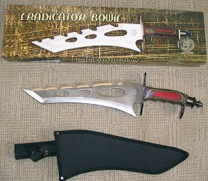 "18 1/4"" BIG Custom Bowie Knife Free Ship & Free Pocket"