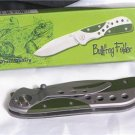 BULL FROG Tactical Folder Knife Stainless-thumb stud
