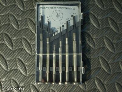 6 pc Precision Screwdriver