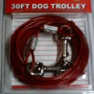 30 ft dog trolley