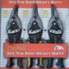 3pc tin snap plier set