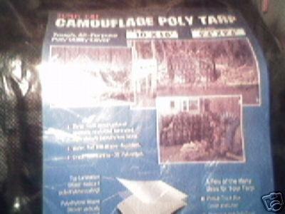 10x10 CAMOUFLAGE TARP
