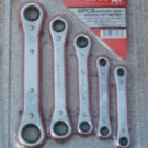 5 pc ratchet box wrench set - s.a.e