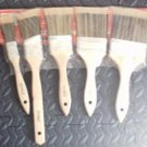"5pc Paint Brush Set --  1"" , 1""x1/2"" , 2"" , 2""x1/2"" , 3"""