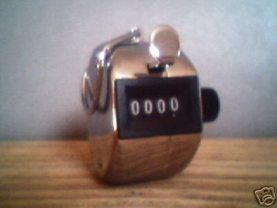 HAND TALLY COUNTER ( 0-9999 )