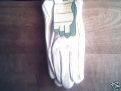 1 pairs of Leather Driving Work Gloves - small