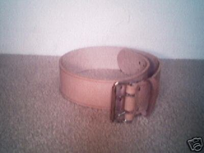 "3"" Genuine Leather Tool Belt"
