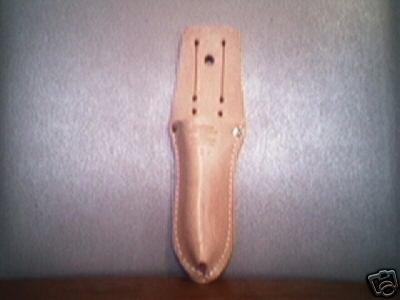 Genuine Leather Utility Knife Holder.