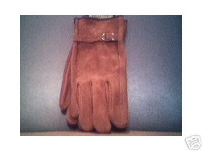 a pair of Genuine Leather Gloves