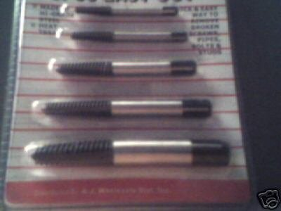 5pc Spiral Easy Out - Broken Screws Extractor.