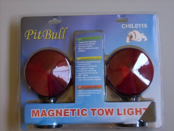 Magnetic Tow Light Complete Kit