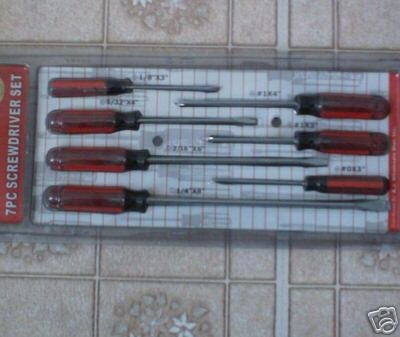 7pc Screwdriver