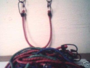"12pc 12"" long Bunge Cords"
