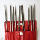 10 pc 3 x 140 mm needle file set