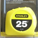 25' power return rule STANLEY TAPE MEASURE -- SAE