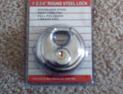 "2-3/4"" ROUND SECURITY PADLOCK"