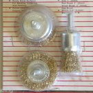 Brass Wire Wheel Brush Set