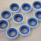 10 roll Teflon Tape