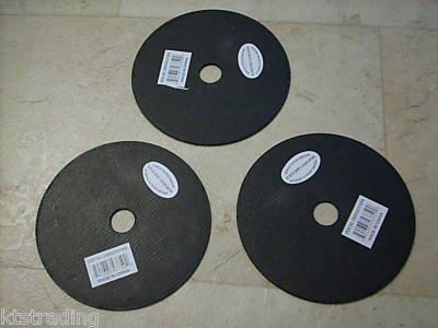 """3qty 4-1/2""""  x 1/16"""" x 5/8"""" Cutoff Saw Blades for Metal"""