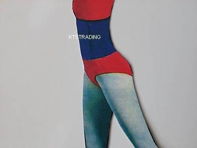 """8"""" waist trimmer-exercise belt-gym tummy belt-blue color"""
