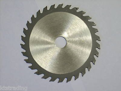 "AT 4-3/8"" size, 30 carbide tooth wood cutting  wheel blade"