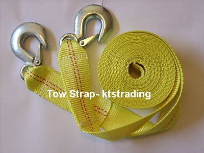 "2"" x 20' HEAVY DUTY TOW STRAP"
