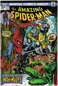 Amazing Spider-Man #124 Comic Book