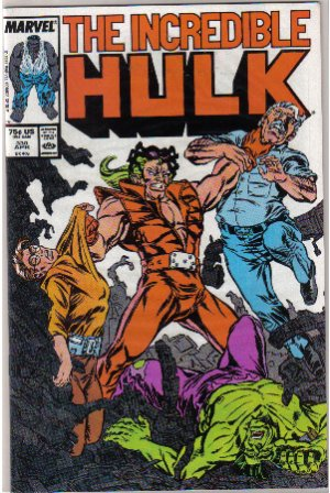 Incredible Hulk #330 Comic Book
