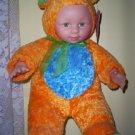 Kostume Kids Colorful Rhino