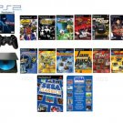 "PS2 ""Sega Classics Bundle""  89 Games  Wireless Controller"