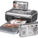 Olympus ImageLink D-555 - 5.1 Megapixel Digital Camera + Digital Printer Kit