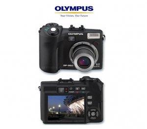 Olympus SP350 - 8.3 Megapixels Digital Camera with 3x Optical 5x Digital Zoom