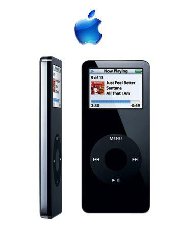 Apple iPod Nano 4GB Black