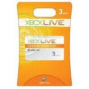 XBOX 360 Live 3 Month Card
