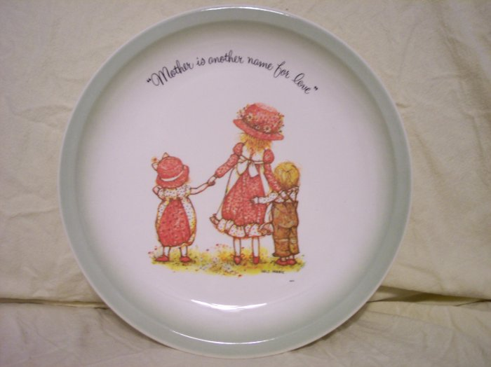 Holly Hobbie Mothers is another name for Love Plate