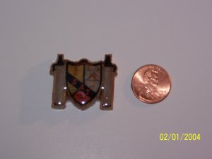 Fraternity / Sorority Crest/ Shield Pin