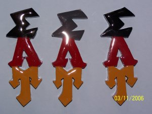 Fraternity / Sorority Graffiti Letters