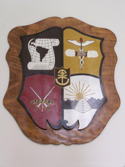 Fraternity / Sorority Crest w/ Background (3ft.)