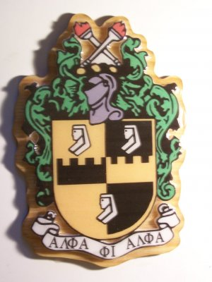"Fraternity / Sorority Crest (10-12"")"