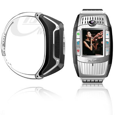 Wrist Watch Mobile Phone Cell Phone, Camera Bluetooth CECT G100